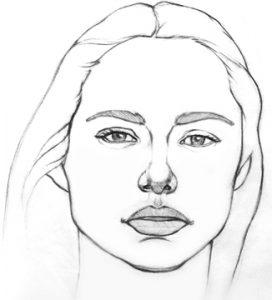 pencil portrait by artist Kevin McCain